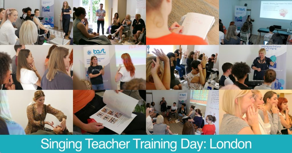 Singing Teacher Training Workshops and Courses