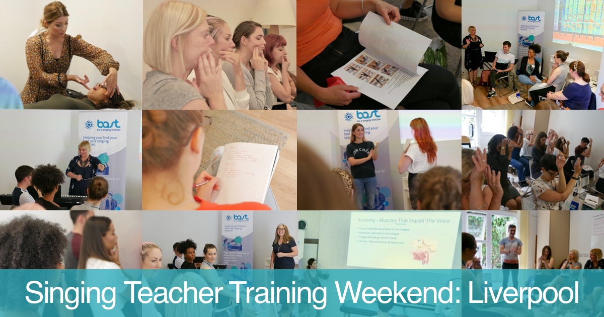 Singing teacher training