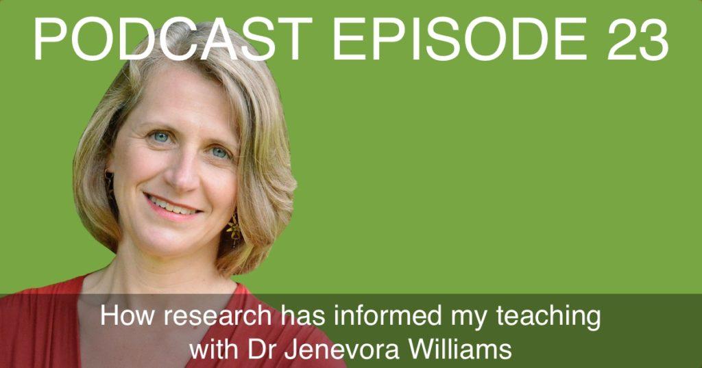Interview Jenevora Williams