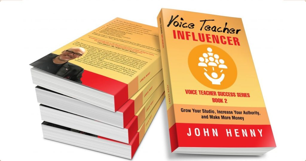 The Voice Teacher Influencer Book Review