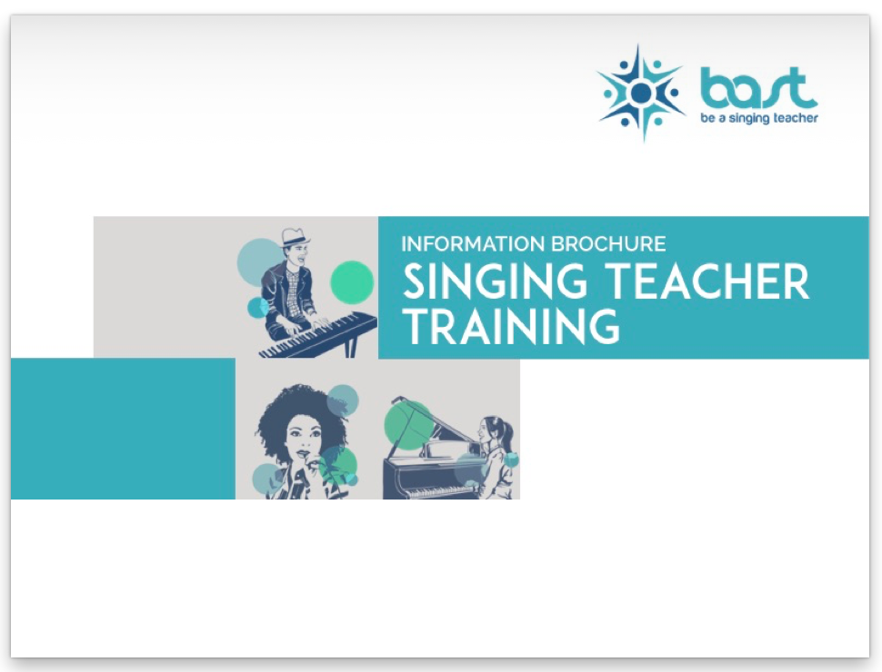 BAST Brochure For Singing Teacher Training