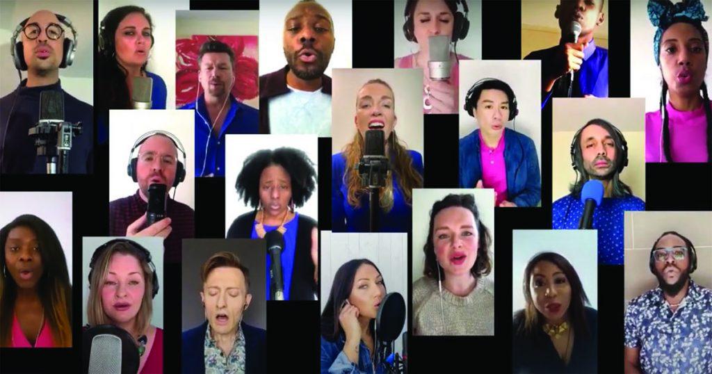Virtual choir