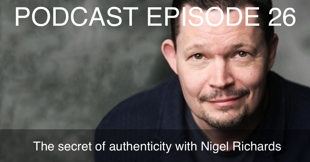 Nigel Richards podcast